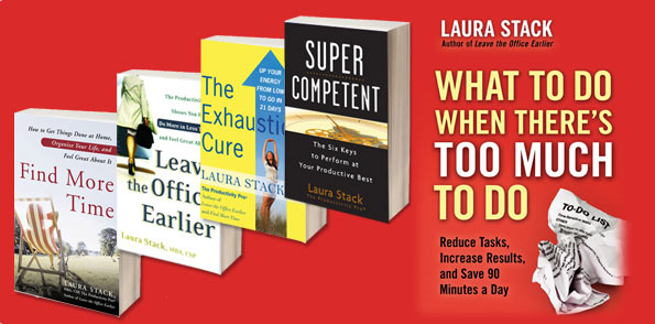 Improve Your Productivity With Books By Laura Stack